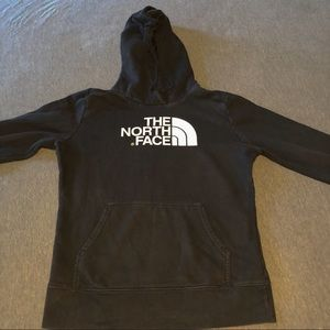The North Face black hoodie small